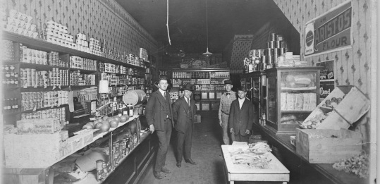 Henry Robert & Sawyer in Old Store